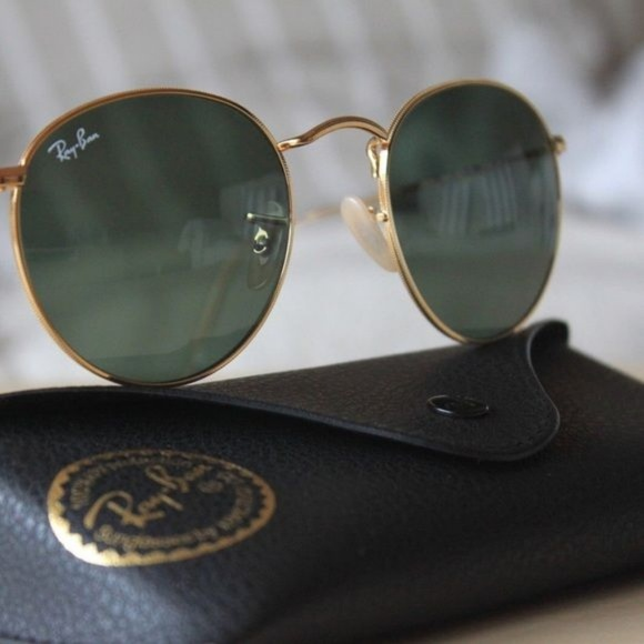 a6e3d241bc0 ❄️Authentic New Ray Ban Round 3447 Sunglasses ❄️